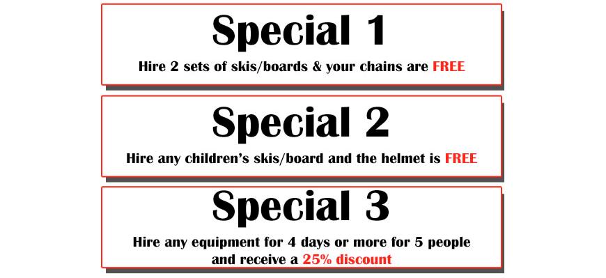 specials slider